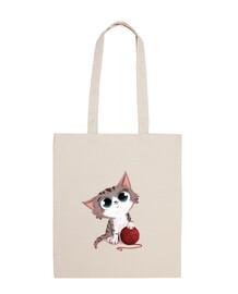 palla di lana gatto