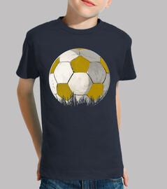 palla giallo e bianco