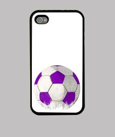 palla violeta e bianco per glez