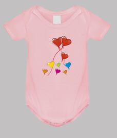 palloncini globos del corazon