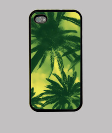 PALM TREE - GREEN IPHONE 4