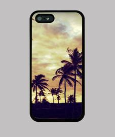 Palmeras - iPhone 5 / 5s, negra