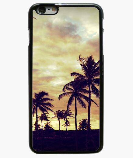 Funda iPhone 6 Plus / 6S Plus Palmeras - iPhone 6 Plus, negra