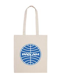 Pan Am logo azul