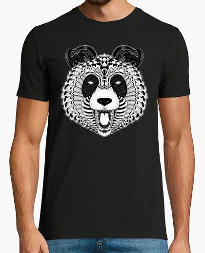 Camiseta panda adornado