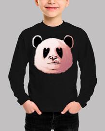 panda amoureux