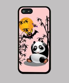 panda asustado
