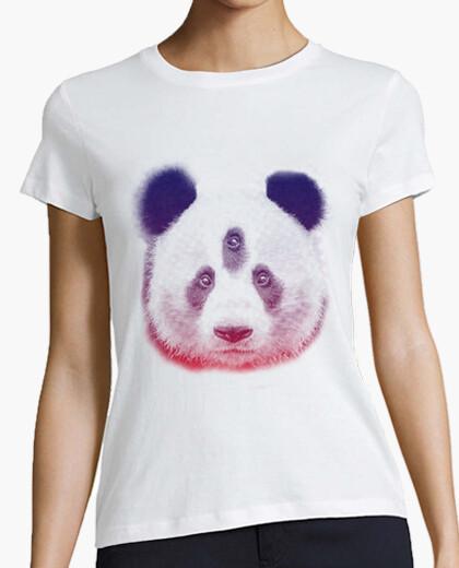 Panda bear face t-shirt