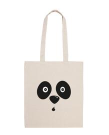 panda bear face