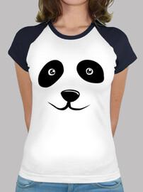 panda bear faces