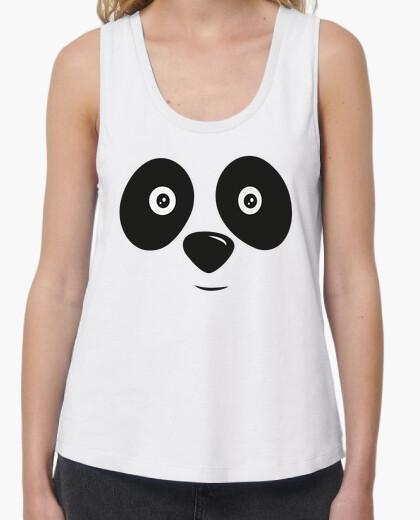 Panda bear happy face t-shirt
