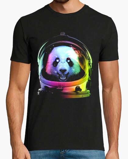 Camiseta panda de astronauta