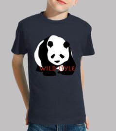 panda de estilo salvaje