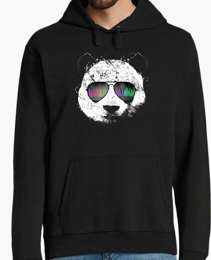 Jersey panda de la vieja escuela