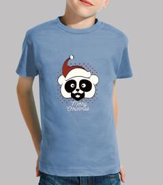 Panda de navidad