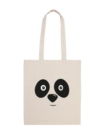panda face happy