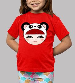 panda fille