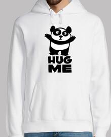panda hug me
