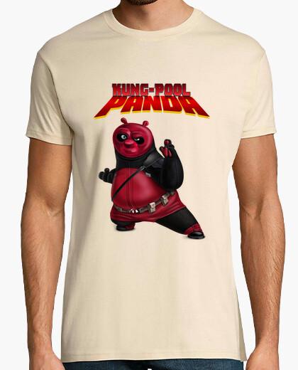 Tee-shirt panda kung-pool