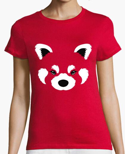 Camiseta panda rojo