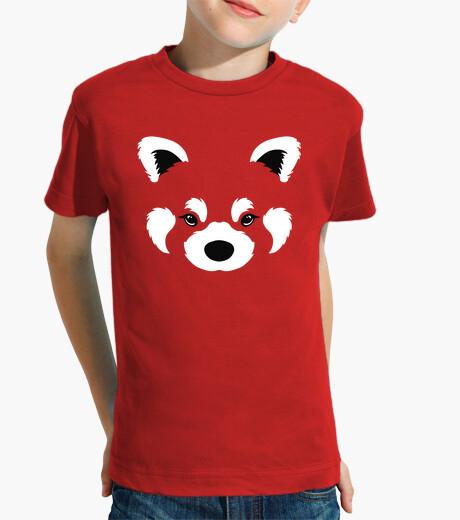 Ropa infantil panda rojo