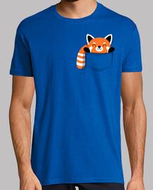 Panda rojo bolsillo