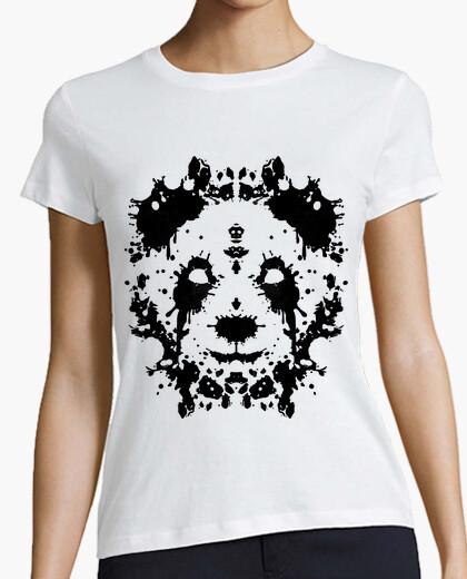 T-shirt panda rorschach