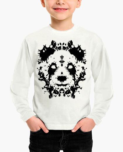 Ropa infantil panda rorschach