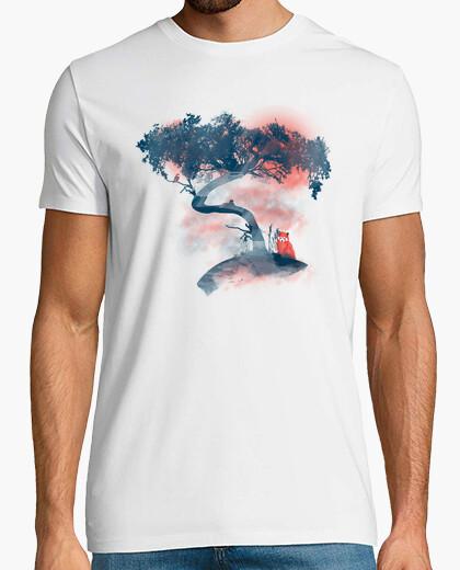T-shirt Panda rosso