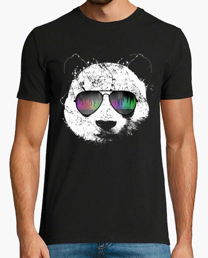 T-shirt panda vecchia scuola