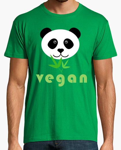Camiseta panda vegan 2