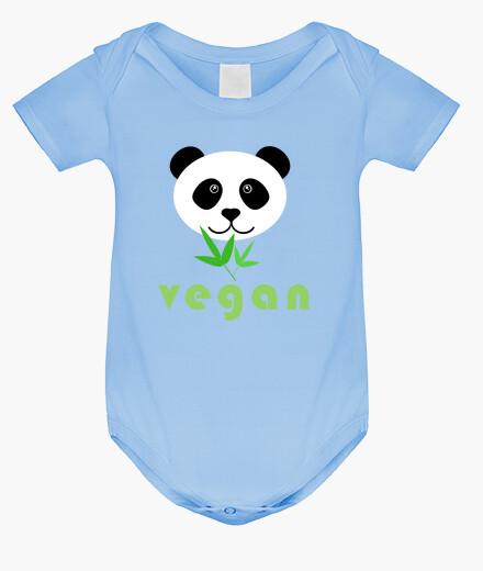 Ropa infantil panda vegano 2