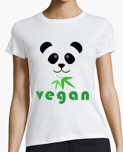 Tee-shirt panda végétalien 1