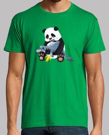 Panda y delfin