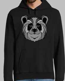 panda zentangle