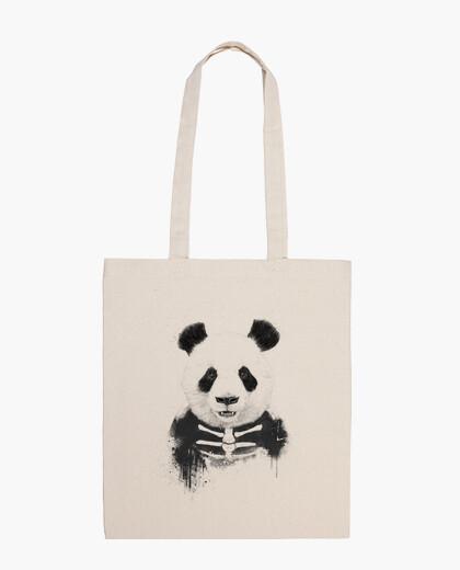 Sac panda zombie