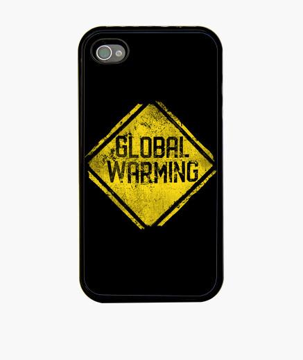 Coque iPhone panneau d39avertissement: réchauffement