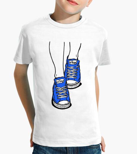 Vêtements enfant pantoufles bleu