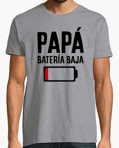 Camiseta Papá batería baja