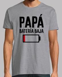 Papá batería baja