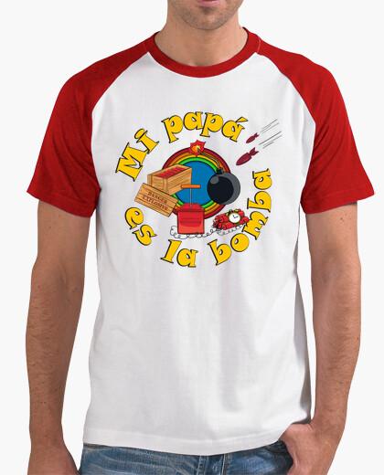 Camiseta Papá bombas