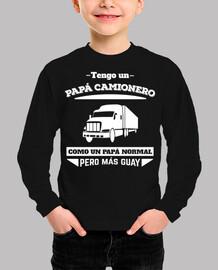 Papá Camionero (niño)