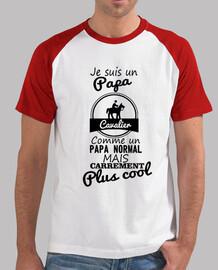 Papa cavalier plus cool