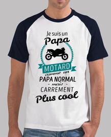 papà decisamente più biker trendy