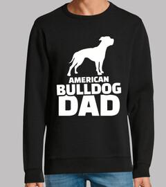 papà del bulldog americano