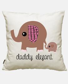Papa Elefante y Elefantito