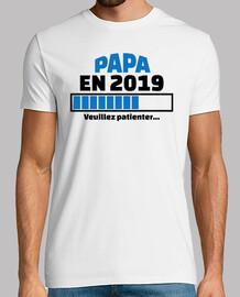 papá en 2019 por favor espere