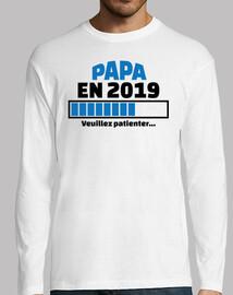 Papa en 2019 veuillez patienter