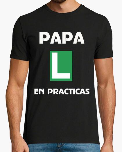 Camiseta PAPA EN PRACTICAS