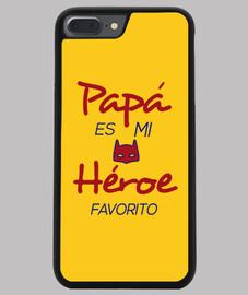 Papá es mi héroe favorito